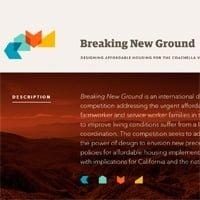 Concurso Breaking New Ground