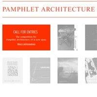 Concurso Pamphlet Architecture 35