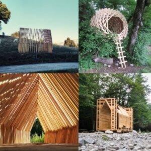4-cabanes.jpg Competencia de Arquitectura 12 Cabañas en 12 Lugares: Le festival des Cabanes