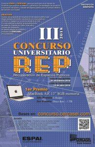 CONCURSO.jpg III Concurso de Recuperación de Espacios Públicos ESPAI