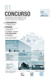 CONCURSO23082018-2.jpg Concurso Arquitectónico para Ampliaciones del Colegio Villa de Jesus Lima Péru