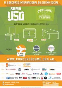 Flyer-Suma-Uso.jpg Concurso Internacional de Diseño Social Sumá Uso!