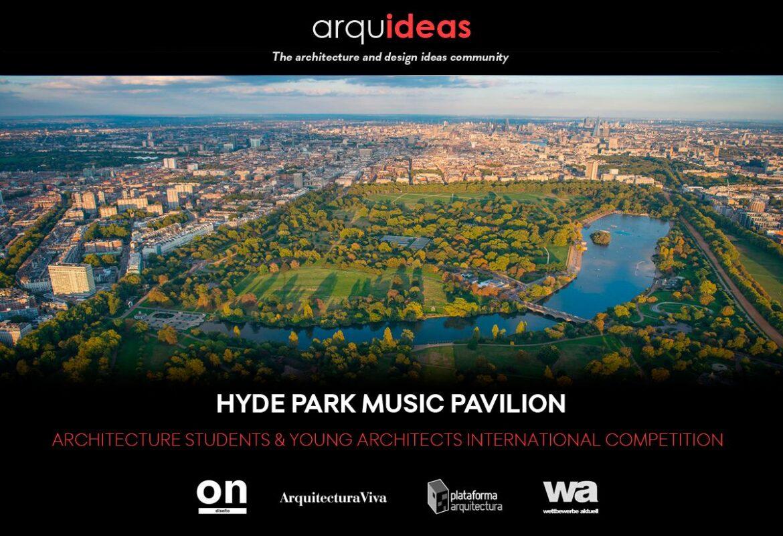 Concurso para crear un espacio cultural vinculado a la música: Hyde Park Music Pavilion (HPMP) Londres