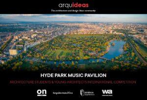 HPMP-Flyer-1.jpg Concurso para crear un espacio cultural vinculado a la música: Hyde Park Music Pavilion (HPMP) Londres