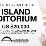 Concurso Internacional de Arquitectura Kip Island Auditorium