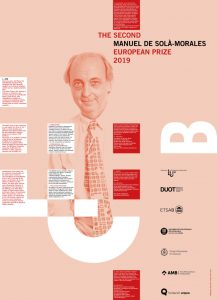 MSM_prize_poster.jpg Premio Europeo de Urbanismo Manuel de Solà-Morales