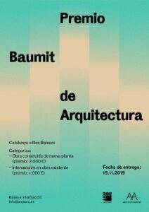 PremioBaumit_cartel.jpg Premio Baumit de Arquitectura