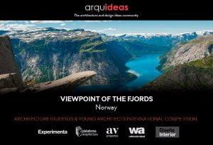 VOF-Flyer-1.jpg Concurso Arquitectura para Estudiantes y Jóvenes Arquitectos: Viewpoint Of The Fjords (VOF) Noruega