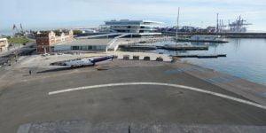 Vista-explanada-skatepark.jpg Concurso de Ideas: Diseño de un Skatepark y Urbanización en La Marina de Valencia, España
