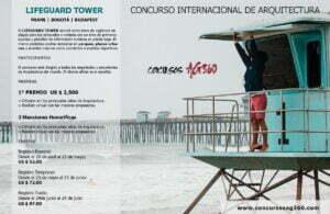 cartel-DESIGNBOOM-01.jpg Competencia de Diseño de una Torre de Vigilancia: Lifeguard Tower