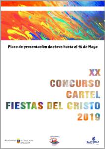 cartel2019.png XX Concurso de Diseño de Portada del Llibret y Cartel Fiestas del Santísimo Cristo de la Paz 2019
