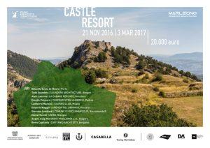cover_castle_resort_2016.jpg Competencia Internacional de Arquitectura Castle Resort en Roccamandolfi, Italia