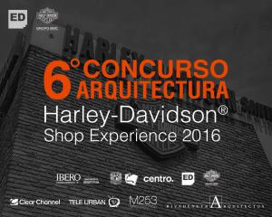 fb-post1junio.png 6° Concurso de Arquitectura Harley-Davidson® Shop Experience 2016