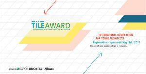 invitation_e_tile_award_2017-1.jpg Competencia Internacional Arquitectos y Diseñadores de Interiores 2017 TILE AWARD