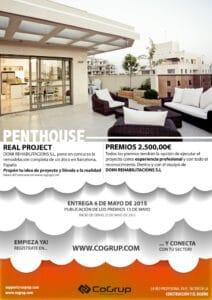 CARTEL-CONCURSO-PENTHOUSE-V2.jpg Concurso para Remodelación de un Atico en Barcelona, España