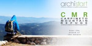 POST-CMR.jpg Competencia Internacional de Diseño de Cabañas en Refugio Montaña Carpineto, Italia