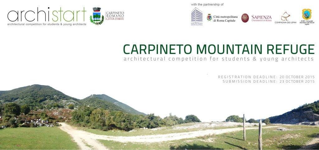 Competencia internacional de diseño de cabañas en refugio montaña ...